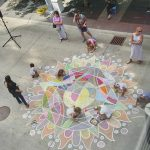 Community mandala from the skyway 2019