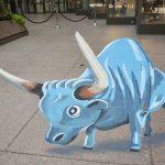 Artist Shawn McCann's 3D Babe the Blue Ox 2019